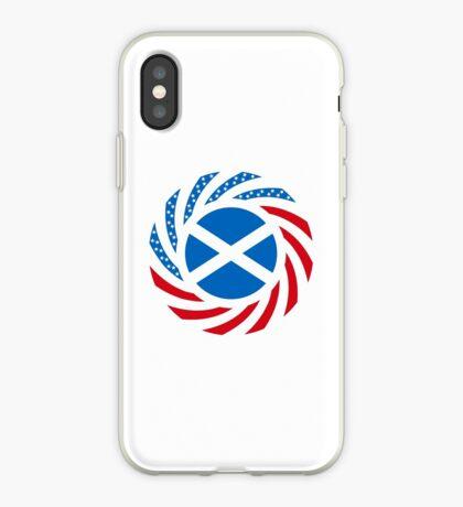 Scottish American Multinational Patriot Flag Series iPhone Case