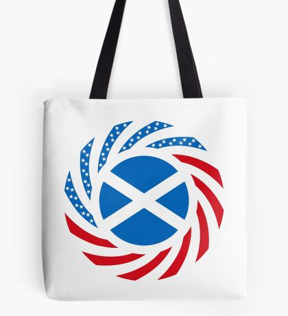 Scottish American Multinational Patriot Flag Series Tote Bag