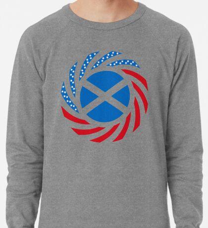 Scottish American Multinational Patriot Flag Series Lightweight Sweatshirt