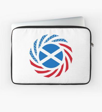 Scottish American Multinational Patriot Flag Series Laptop Sleeve
