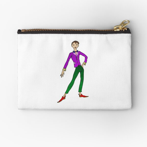 Percy, The Gay Coloring Book Zipper Pouch