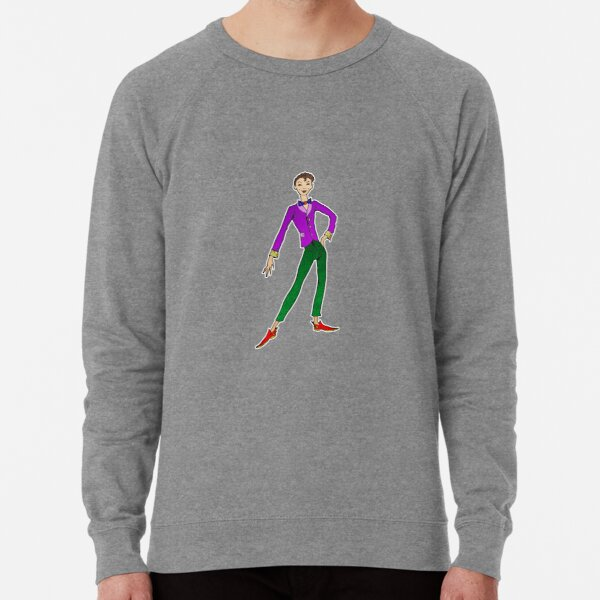 Percy, The Gay Coloring Book Lightweight Sweatshirt