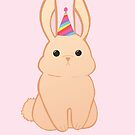 Rabbit Birthday - Happy Birthday - Hoppy Birthday - Rabbit - Bunny - Pun - Birthday Pun - Rabbit Pun - Party - Cute - Adorable by JustTheBeginning-x (Tori)