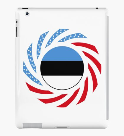 Estonian American Multinational Patriot Flag Series iPad Case/Skin