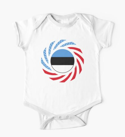 Estonian American Multinational Patriot Flag Series Kids Clothes