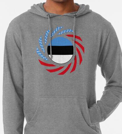 Estonian American Multinational Patriot Flag Series Lightweight Hoodie