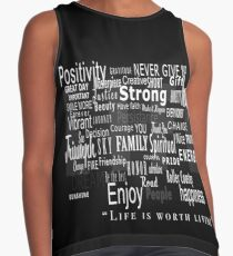Words of Life Contrast Tank