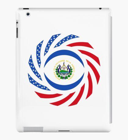 Salvadoran American Multinational Patriot Flag Series iPad Case/Skin