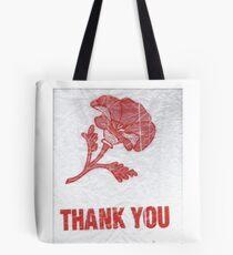 Wild Geranium Thank You Bag Logo Tote Bag