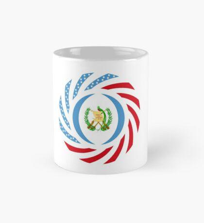 Guatemalan American Multinational Patriot Flag Series Mug