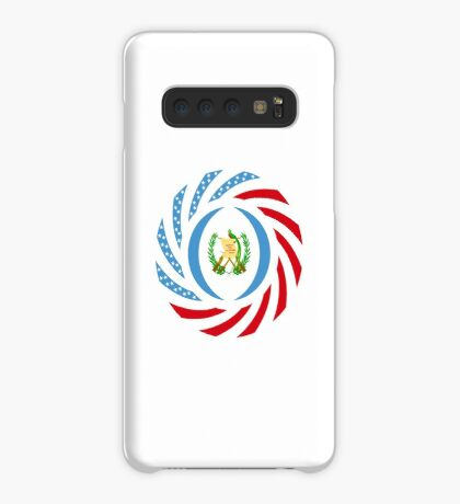 Guatemalan American Multinational Patriot Flag Series Case/Skin for Samsung Galaxy
