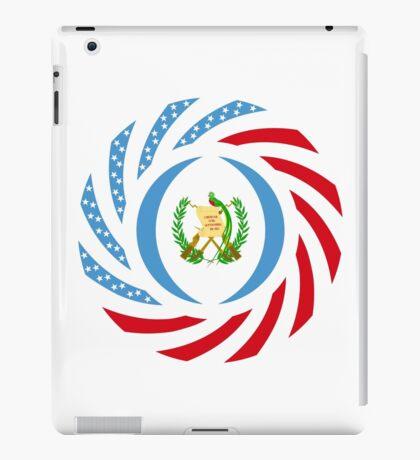 Guatemalan American Multinational Patriot Flag Series iPad Case/Skin
