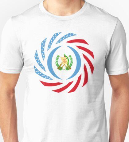 Guatemalan American Multinational Patriot Flag Series T-Shirt