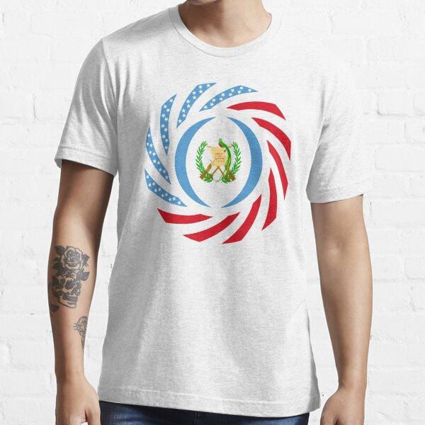 Guatemalan American Multinational Patriot Flag Series Essential T-Shirt