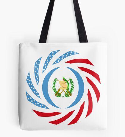 Guatemalan American Multinational Patriot Flag Series Tote Bag