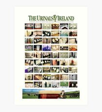 The Urinals of Ireland Poster Art Print