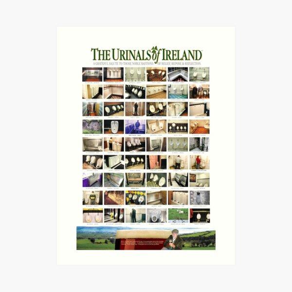 The Urinals of Ireland Poster Art Print