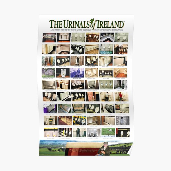 The Urinals of Ireland Poster Poster