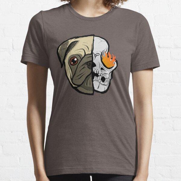 Billky Pugs Gang Skull Flame #3  - pug dog head Essential T-Shirt