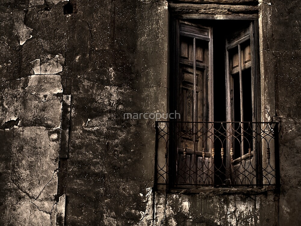 The old balcony by marcopuch
