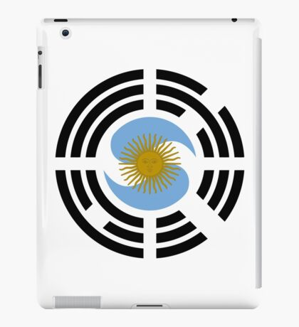 Korea Argentinian Multinational Patriot Flag Series iPad Case/Skin