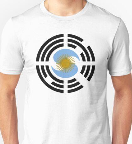 Korea Argentinian Multinational Patriot Flag Series T-Shirt