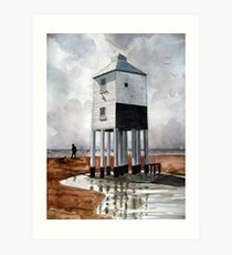 Beach Lighthouse, Burnham-on-Sea, Somerset Art Print