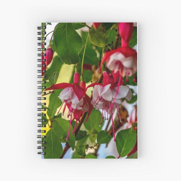 Late September Fuchsia Spiral Notebook