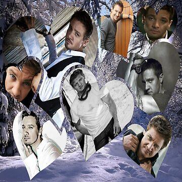 Jeremy Renner Collage 2 by killian8921