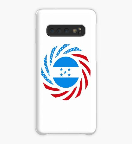 Honduran American Multinational Patriot Flag Series Case/Skin for Samsung Galaxy