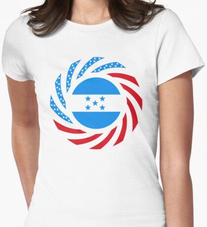 Honduran American Multinational Patriot Flag Series T-Shirt