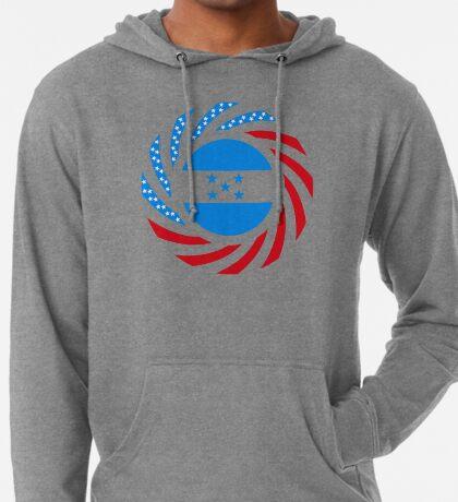 Honduran American Multinational Patriot Flag Series Lightweight Hoodie