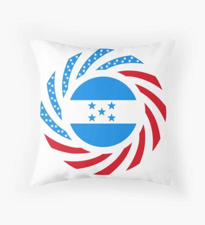 Honduran American Multinational Patriot Flag Series Floor Pillow