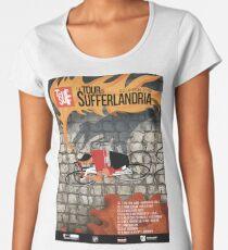Tour of Sufferlandria 2019 Poster - Male Rider Women's Premium T-Shirt