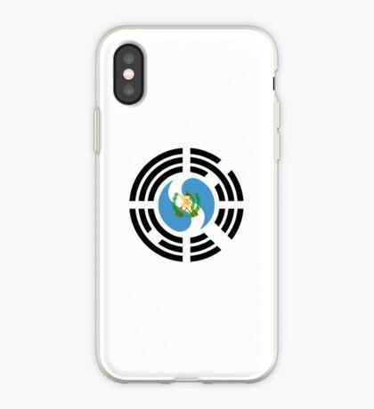 Korean Guatemalan Multinational Patriot Flag Series iPhone Case