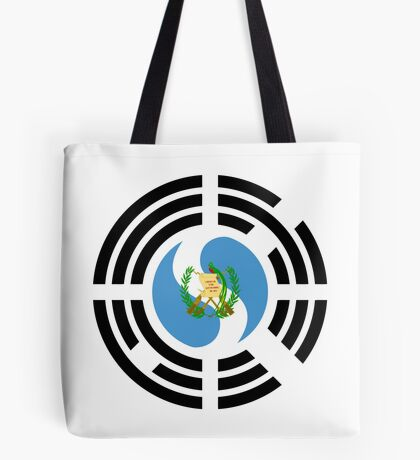 Korean Guatemalan Multinational Patriot Flag Series Tote Bag