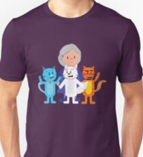 Cathy and The Crazy Cats Unisex T-Shirt