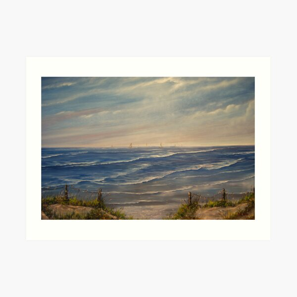 """""""Fanore Beach - County Clare"""" - oil painting Art Print"""