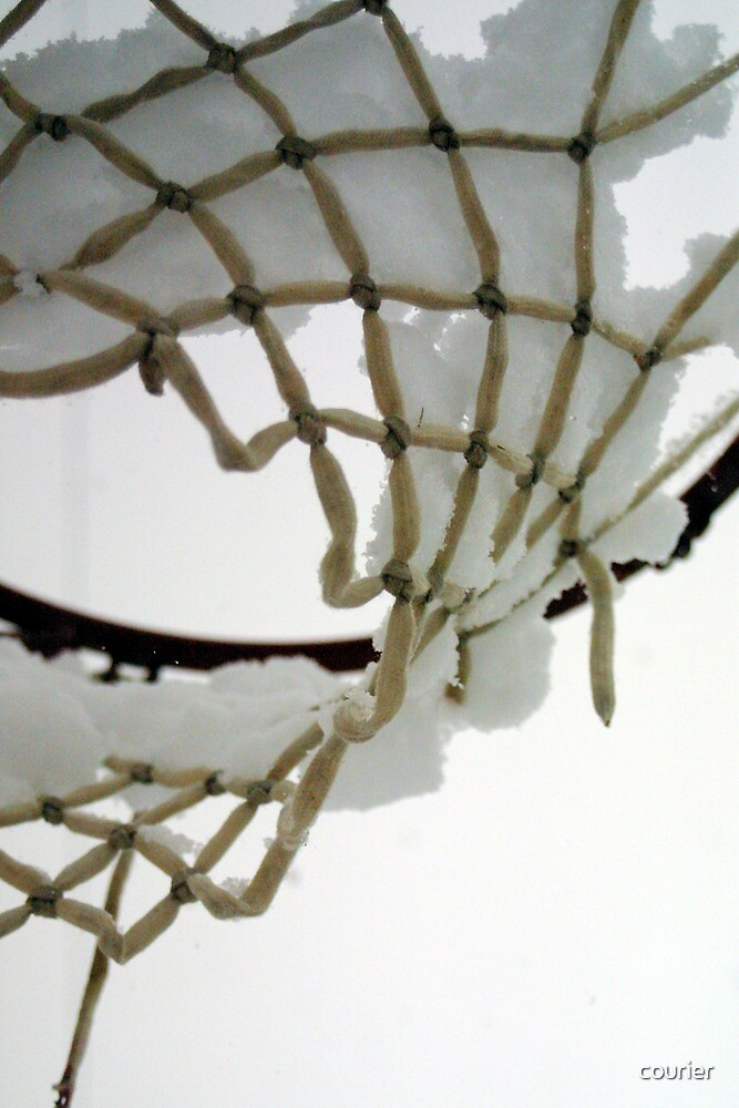 Iced Hoops by courier
