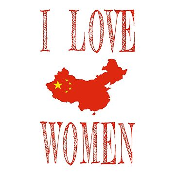 I love Chinese women by jhussar