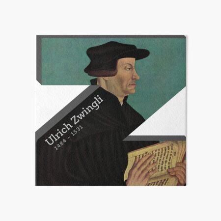 Ulrich Zwingli Art Board Print