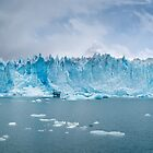 Perito Moreno Glacier. by Silvia Tomarchio