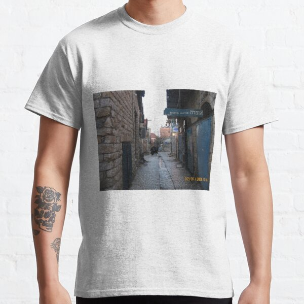#architecture, #outdoors, #street, #travel, #city, #town, #narrow, #alley Classic T-Shirt