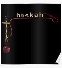 Hookah 3D render Poster