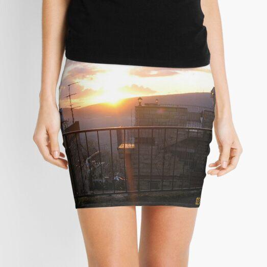 #town, #morning, #house, #sunlight, #tree, #sunset, #outdoors, #architecture Mini Skirt