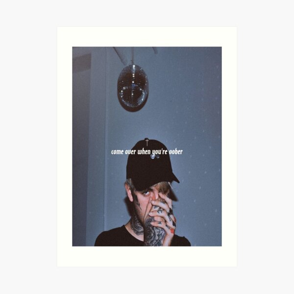 "Lil Peep Come Over When You/'re Sober 1 poster photo print 16/"" Pt 20/"" 24/"" sz"