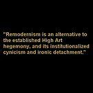 Remodernist Elevator Speech Graphic by Carson Collins