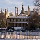 Royal Pavillion In Snow by Foxfire