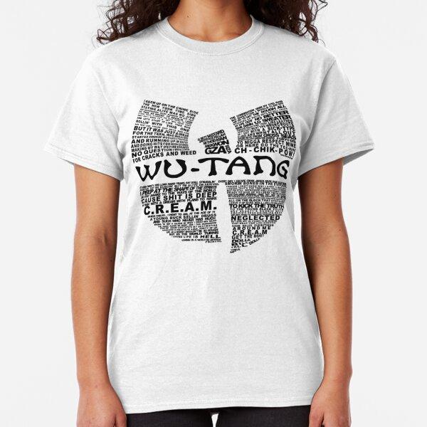 CREAM Lyrics Wu Hip Hop T-Shirt Classic T-Shirt