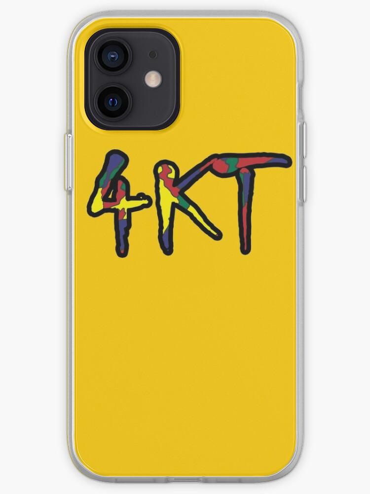 Jeune garçon de couleur hip hop 4KT   Coque iPhone